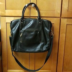 Liz Claiborne Bags - Liz Claiborne Black Leather Business Tote